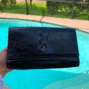 🖤 YSL Leather Large Belle De …